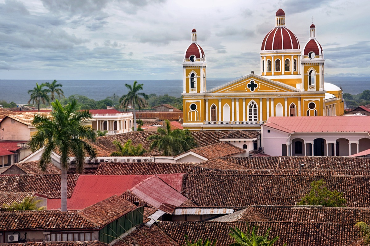 Nicaragua countries the U.S. government doesn't want you to visit
