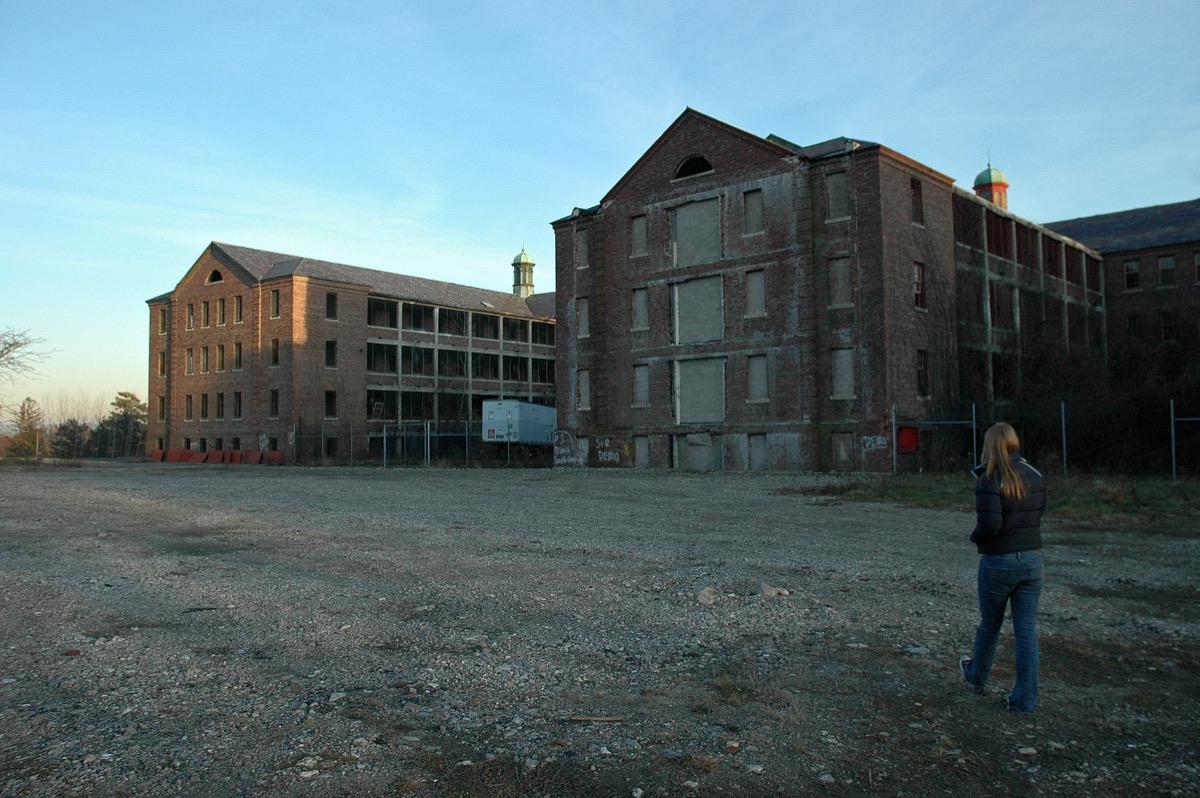 Northampton State Hospital Massachusetts creepiest abandoned buildings