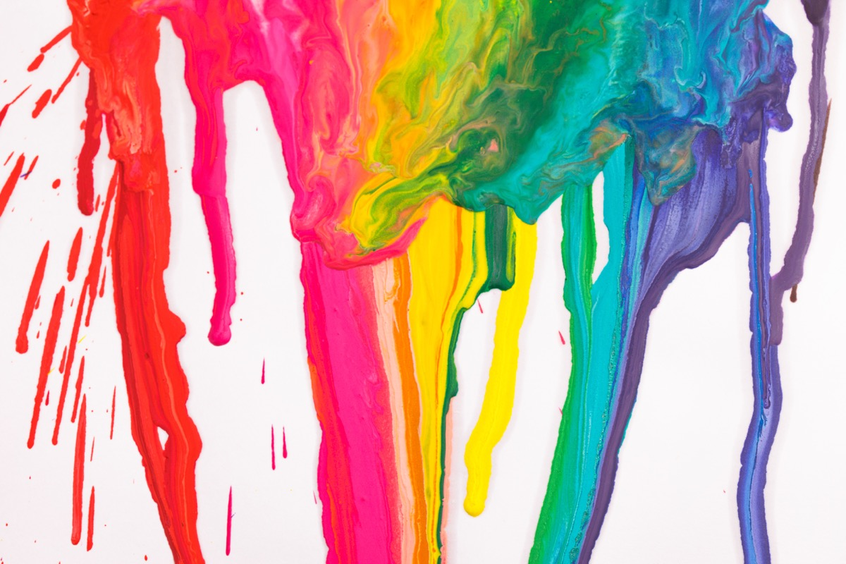 paint dripping on canvas, best easter games