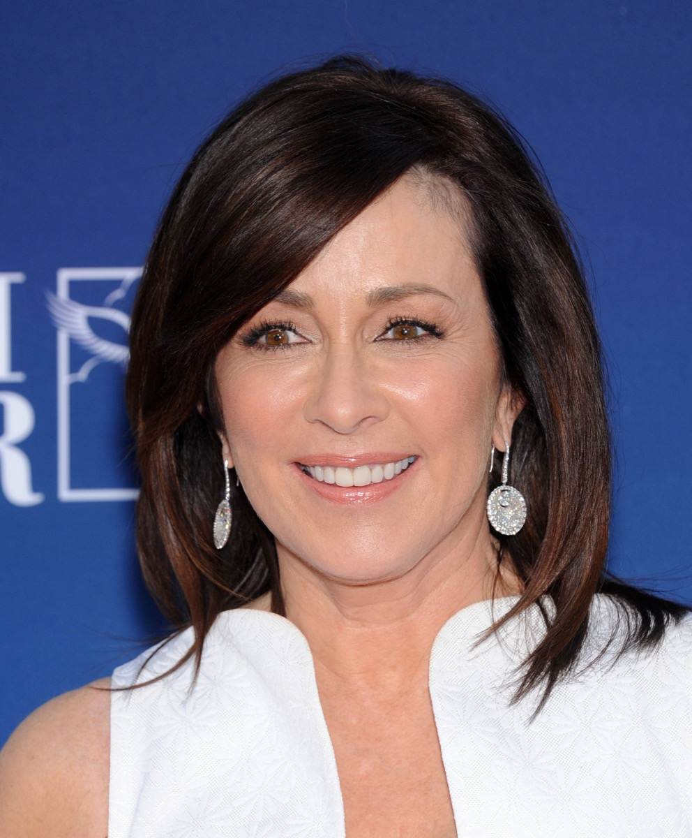 """LOS ANGELES - APR 29: Patricia Heaton arrives to the """"Mom's Night Out"""" Los Angeles Premiere on April 29, 2014 in Los Angeles, CA. - Image"""