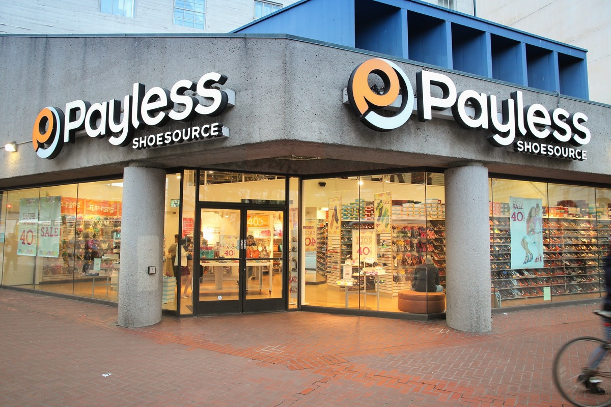 A Payless Storefront {Save Money on Shoes}
