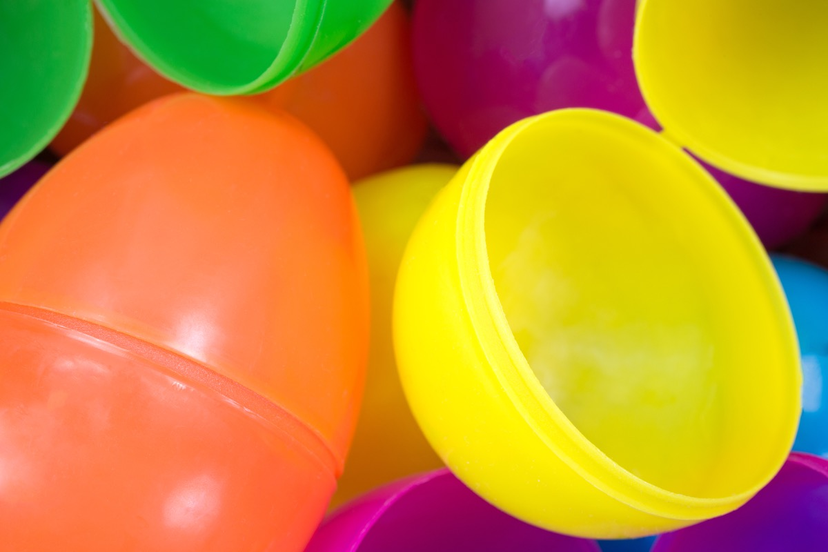 plaster easter egg halves - best easter games