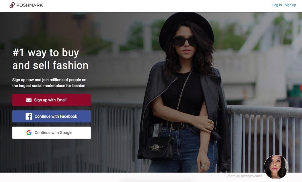 Poshmark Website {Save Money on Athletic Wear}