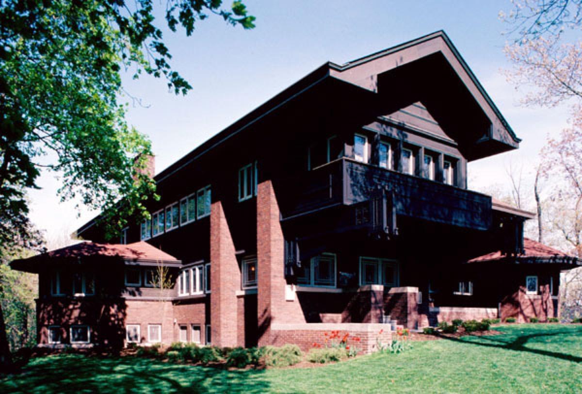 Prairie house architecture