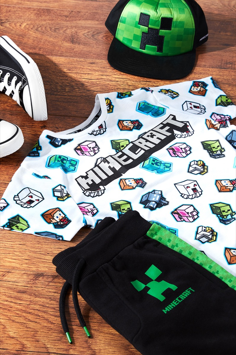Minecraft Clothes From Primark {Save Money on Kids' Clothes}