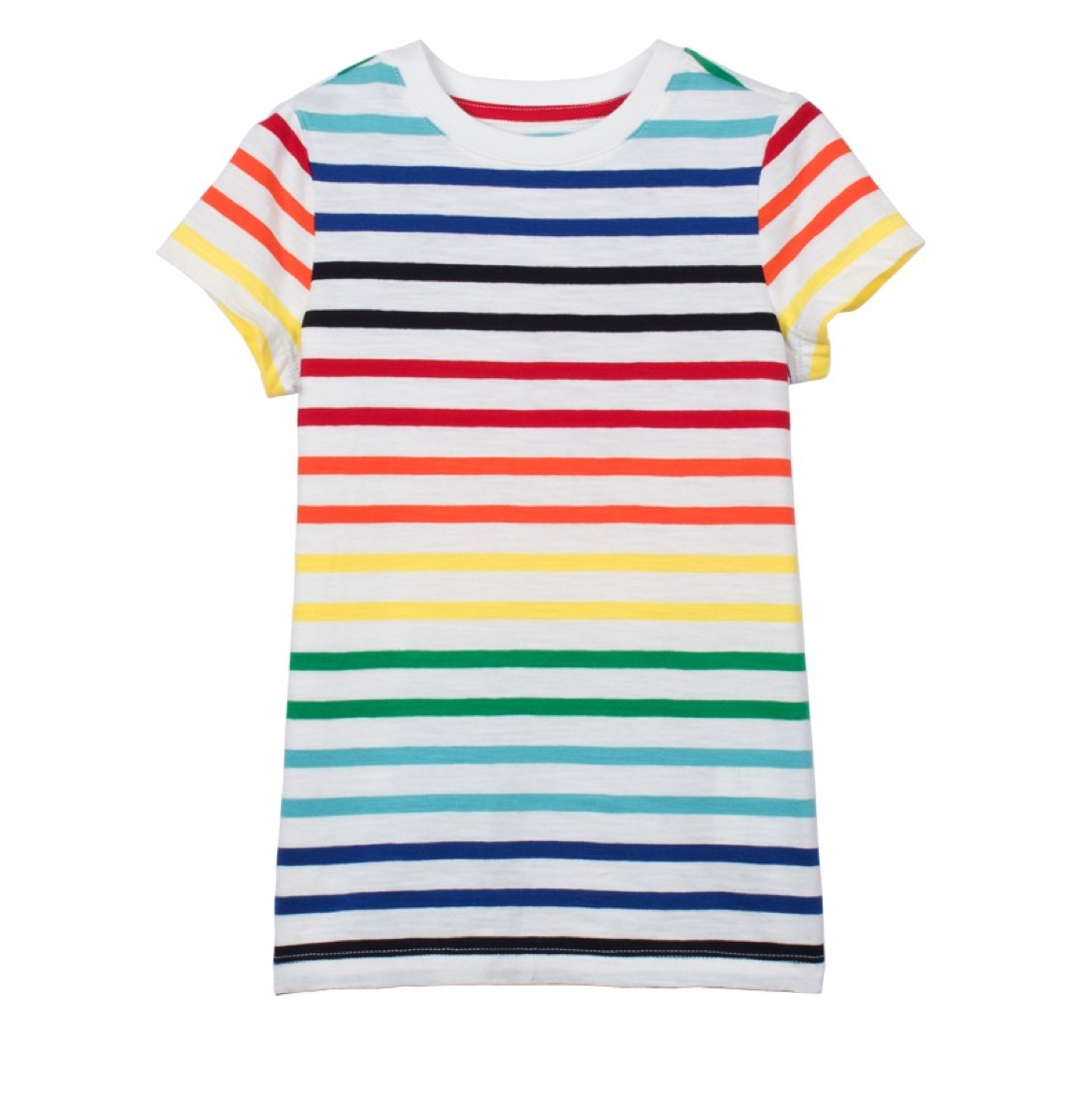 Primary Striped Tee {Save Money on Kids' Clothes}