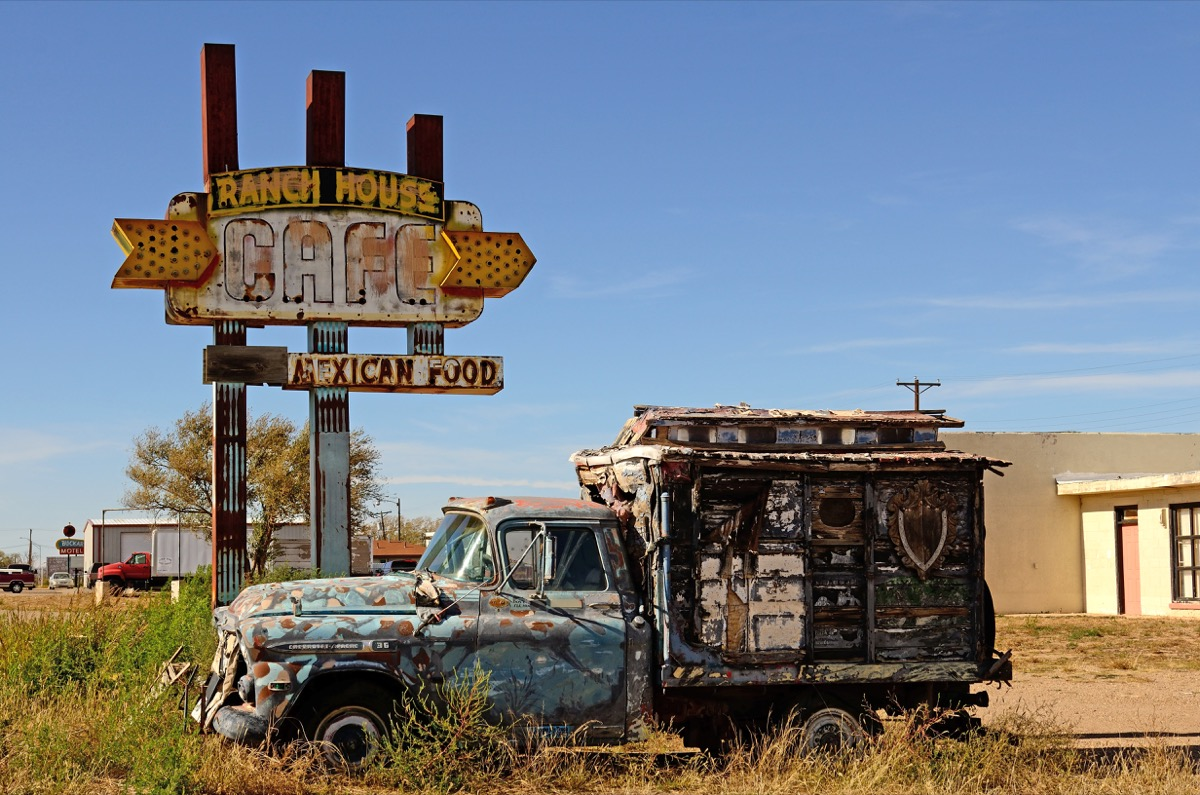 Ranch House Cafe New Mexico creepiest abandoned buildings