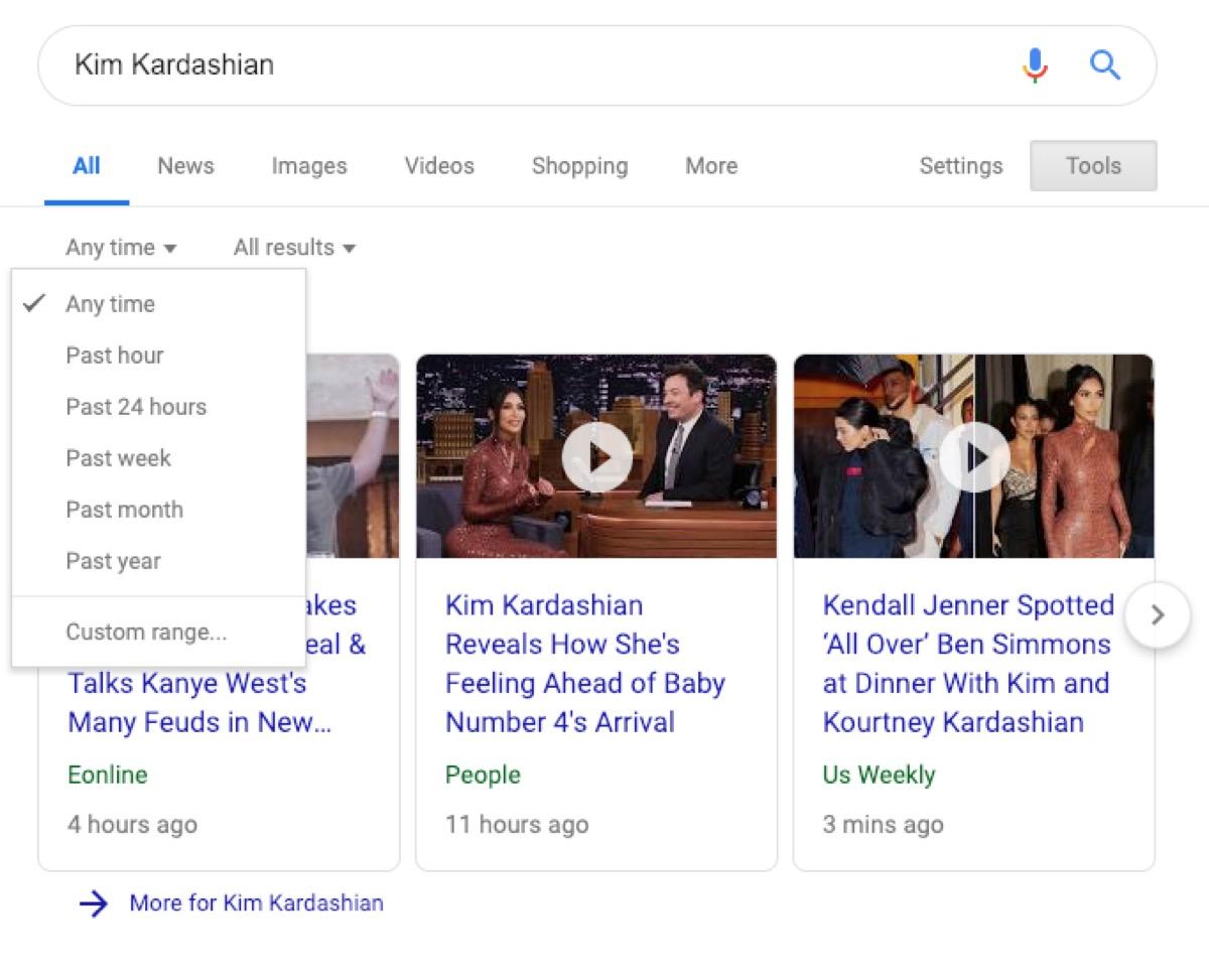 google news search - google tricks