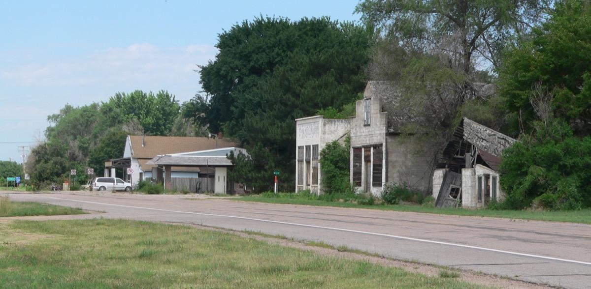 Roscoe Nebraska creepiest abandoned buildings