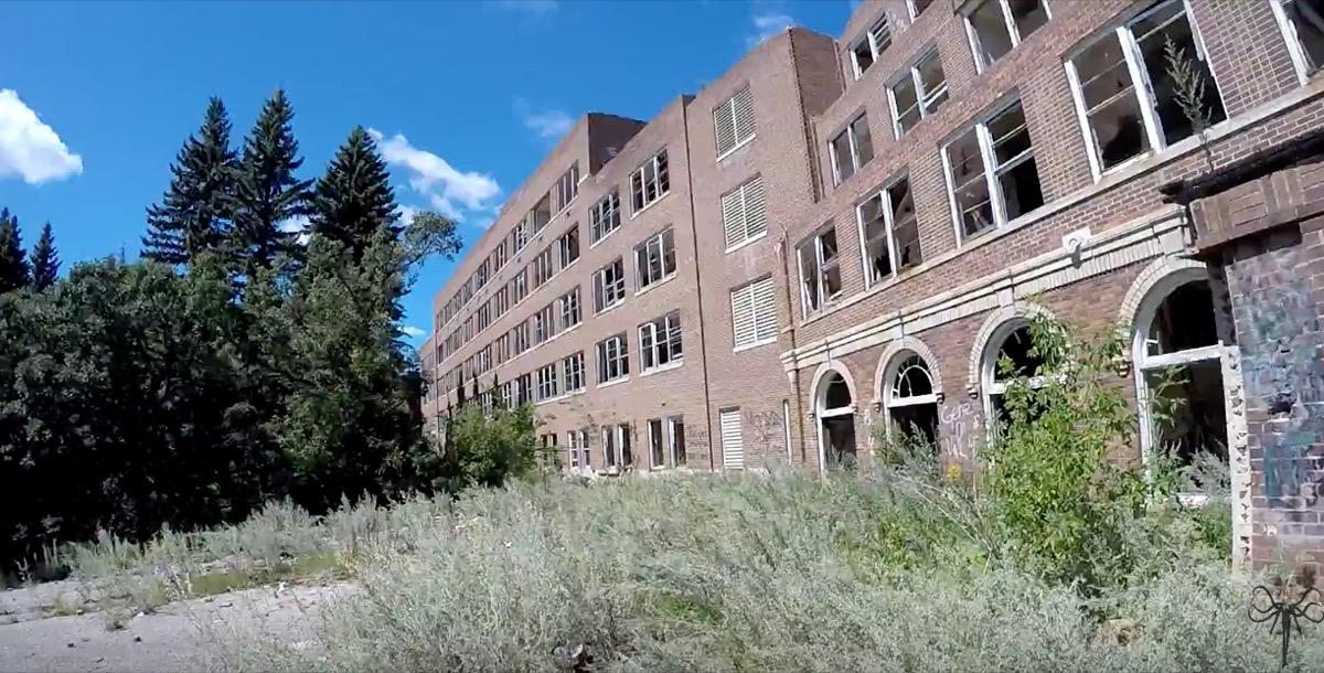 San Haven Sanatorium North Dakota creepiest abandoned buildings