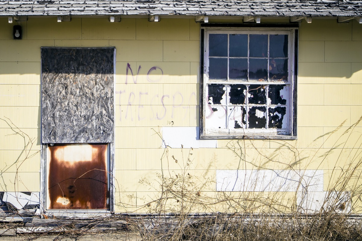 Savanna Army Depot Illinois creepiest abandoned buildings