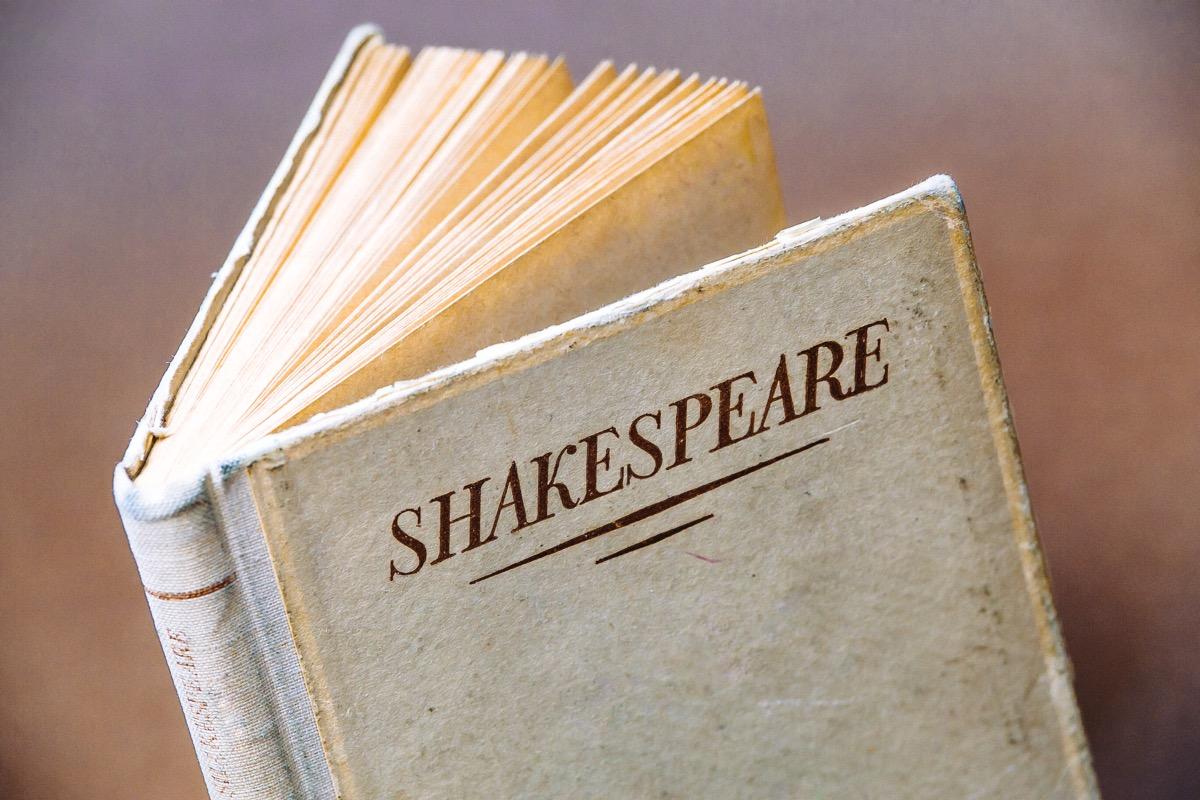 Vintage Shakespeare book
