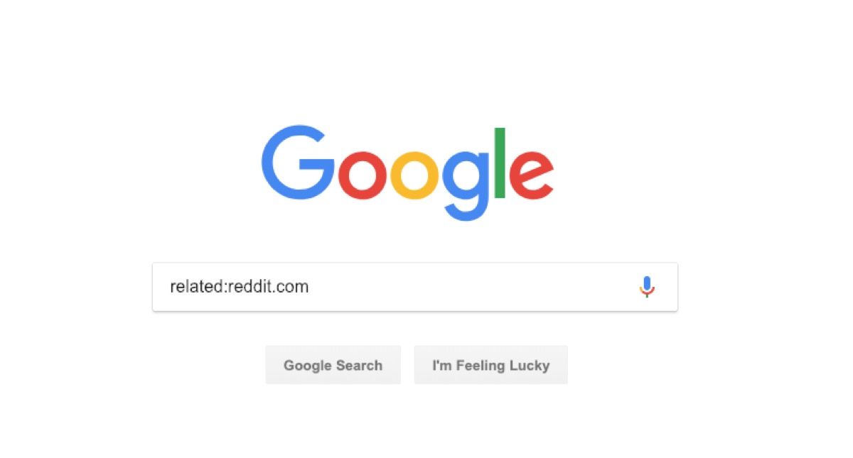 google related search - google tricks