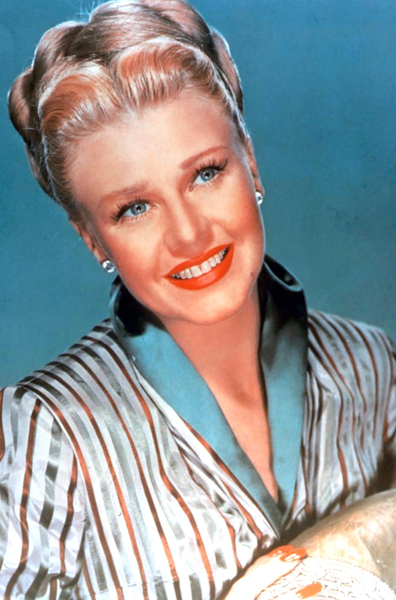 sleep updo by ginger rogers, hairstyles