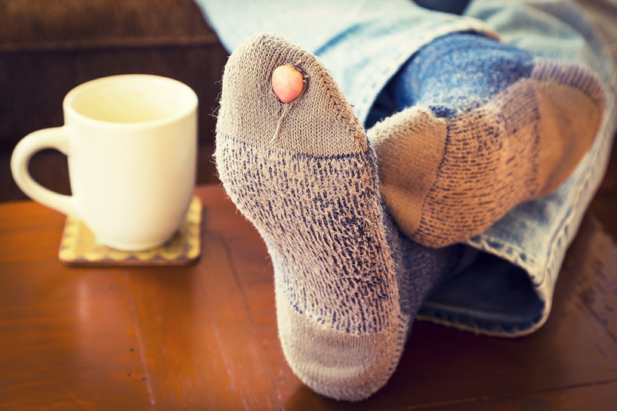 organizing socks
