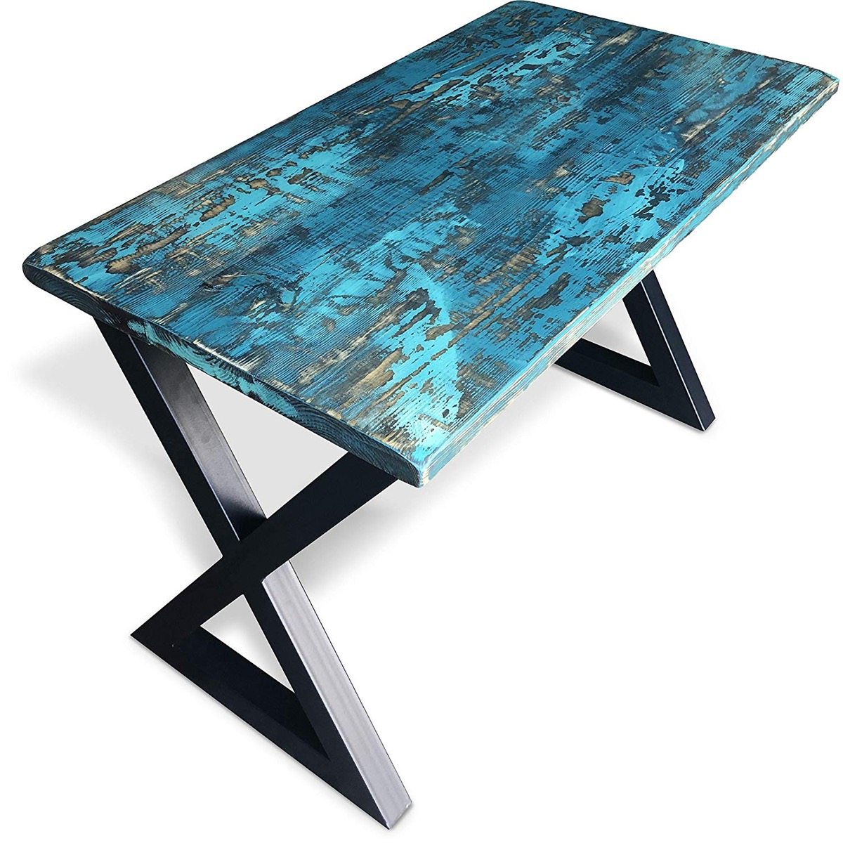 Teal Wood Desk {Handmade Items From Amazon}