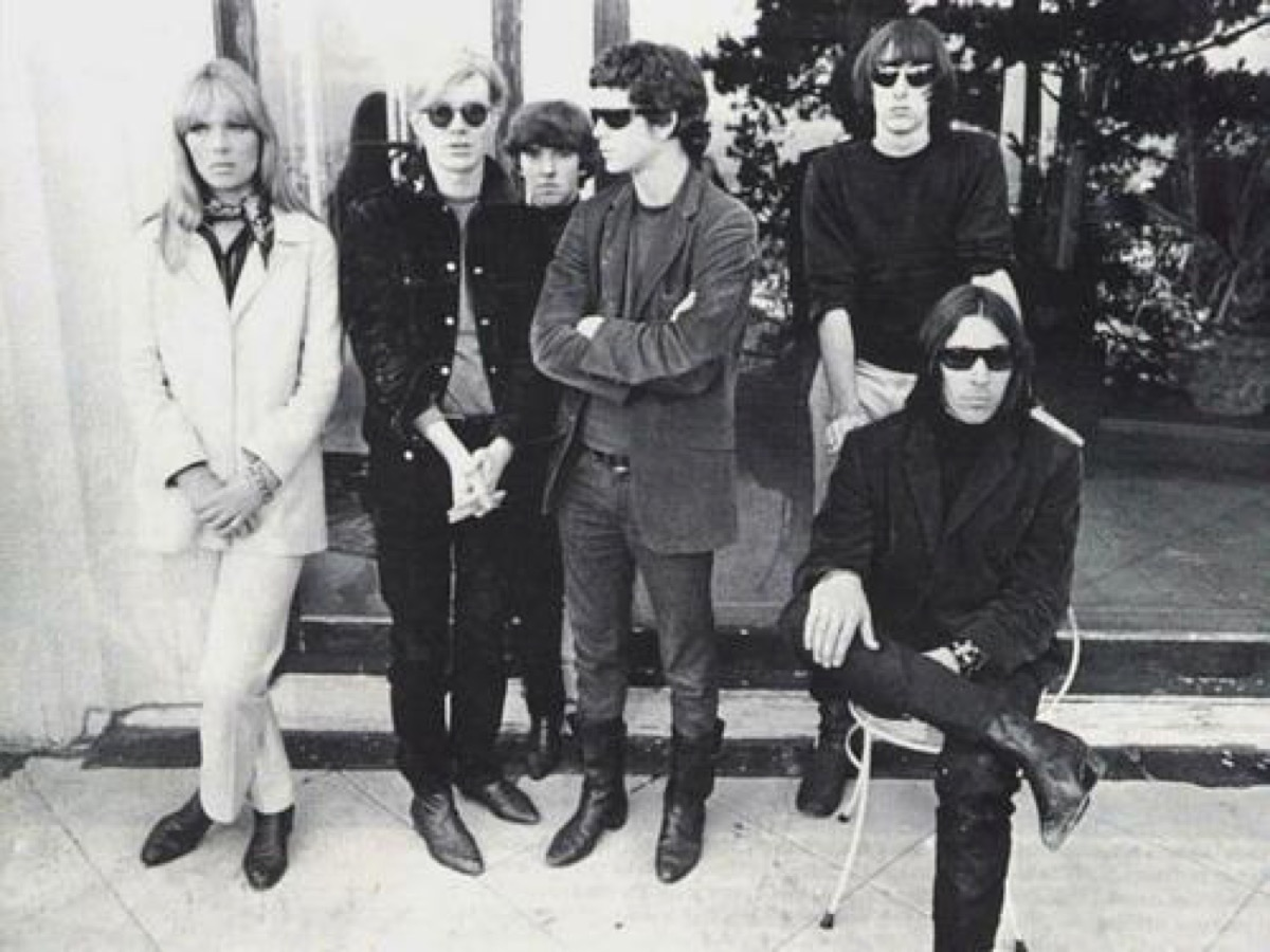 Andy Warhol was hired as manager and producer of The Velvet Underground