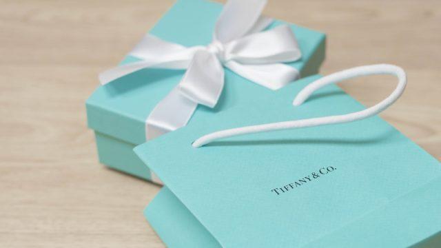 Tiffany & co box and bag