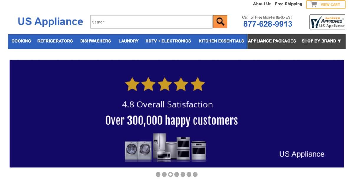 US Appliance Website {Save Money on Kitchen Appliances}