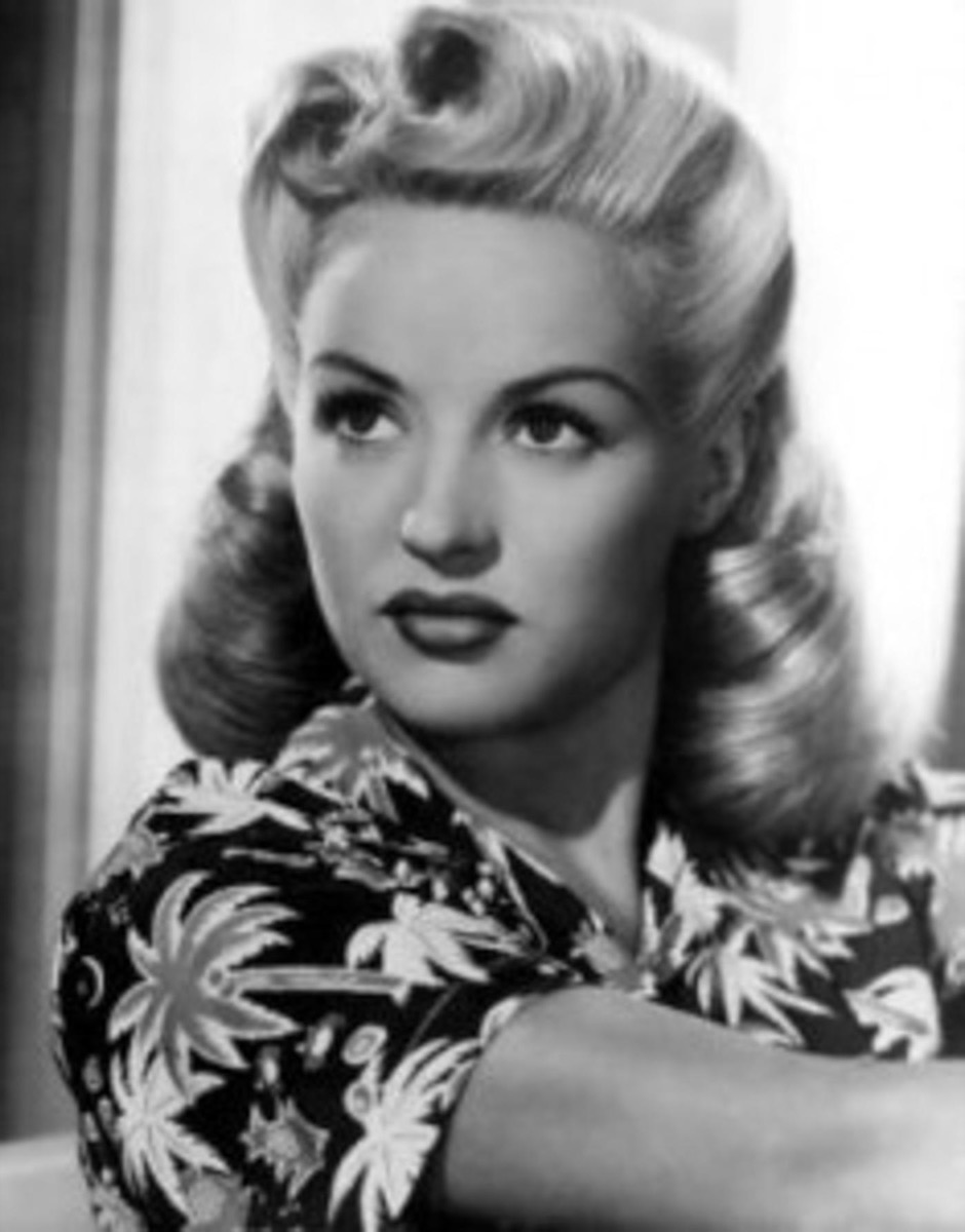 Victory Rolls Hairstyle