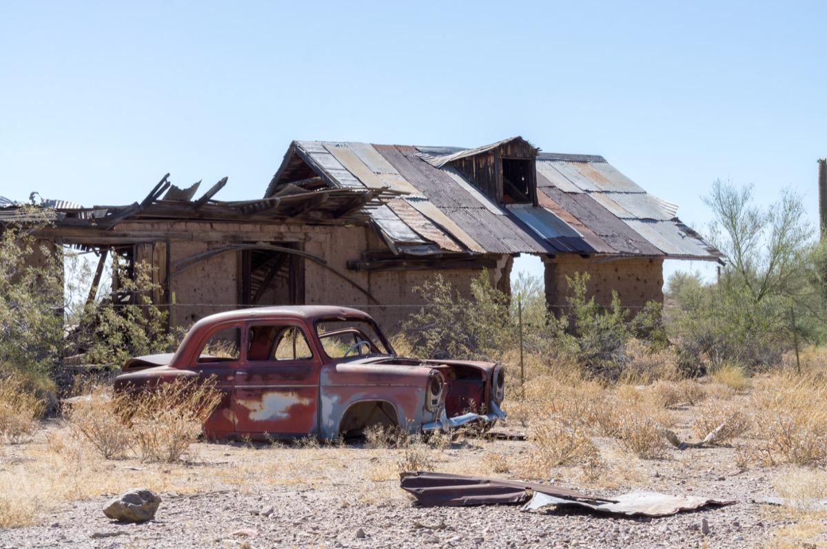 Vulture Mine Arizona creepiest abandoned buildings
