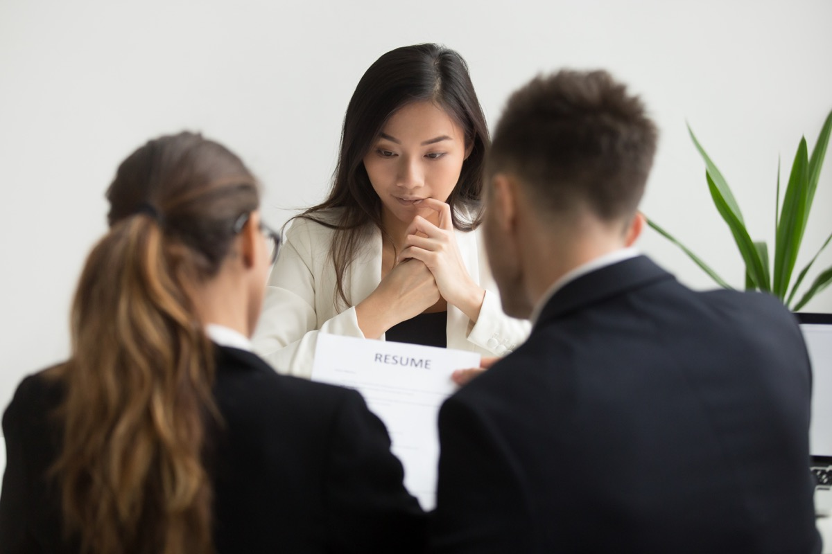 Job interview Illegal interview questions