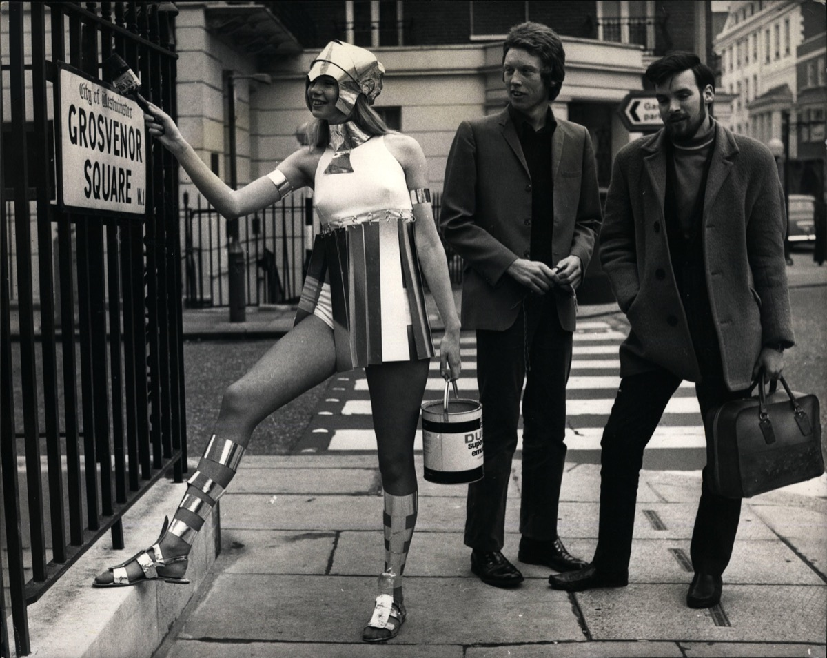 1970s London model gawked at, cool grandparents
