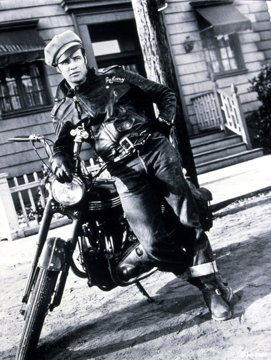 Wild One Still of a Bad Boy on a Motorcycle How People Used to Flirt