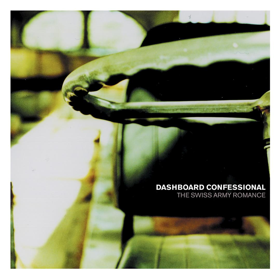 dashboard confessional the swiss army romance cover