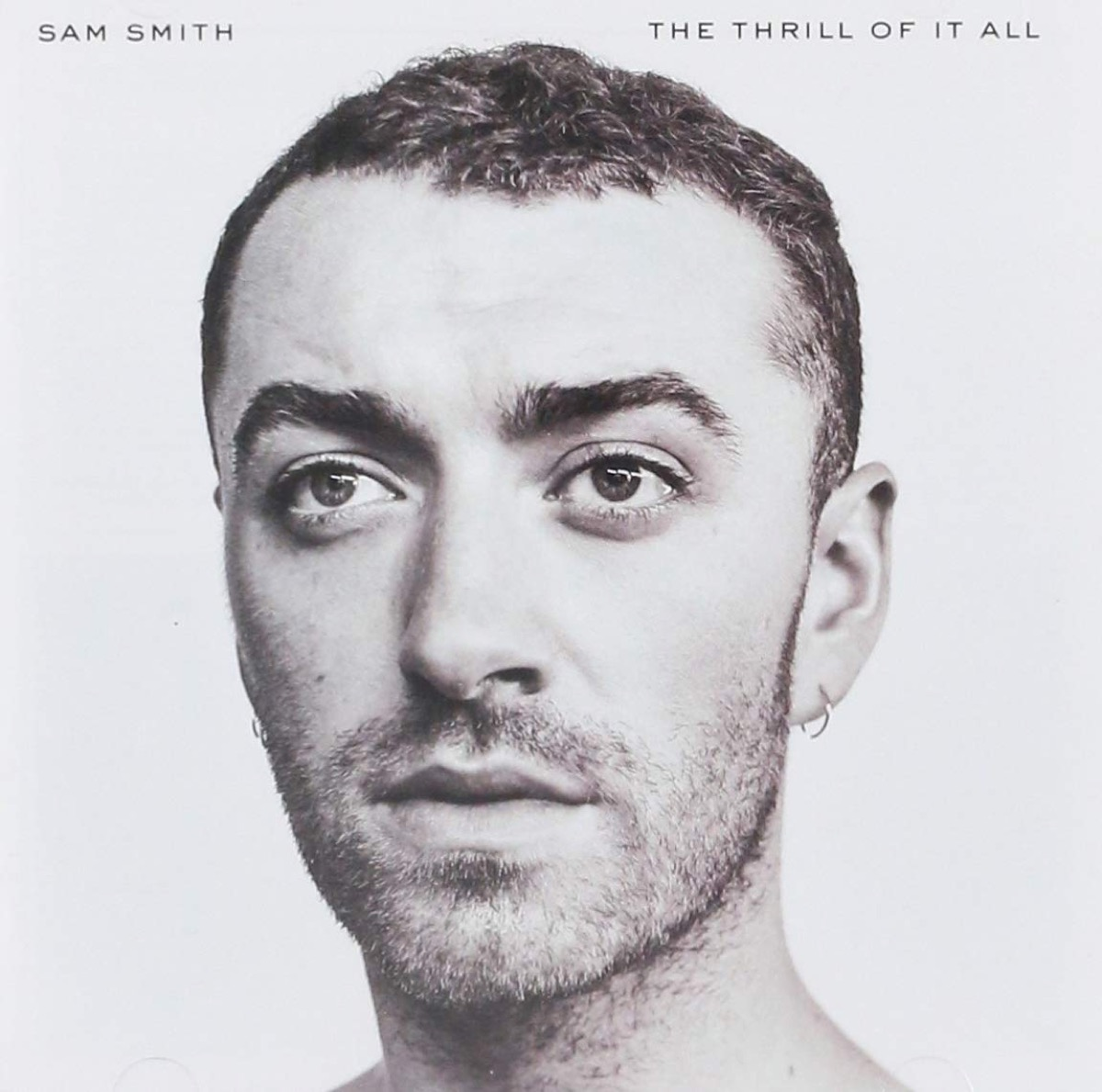 sam smith the thrill of it all album cover