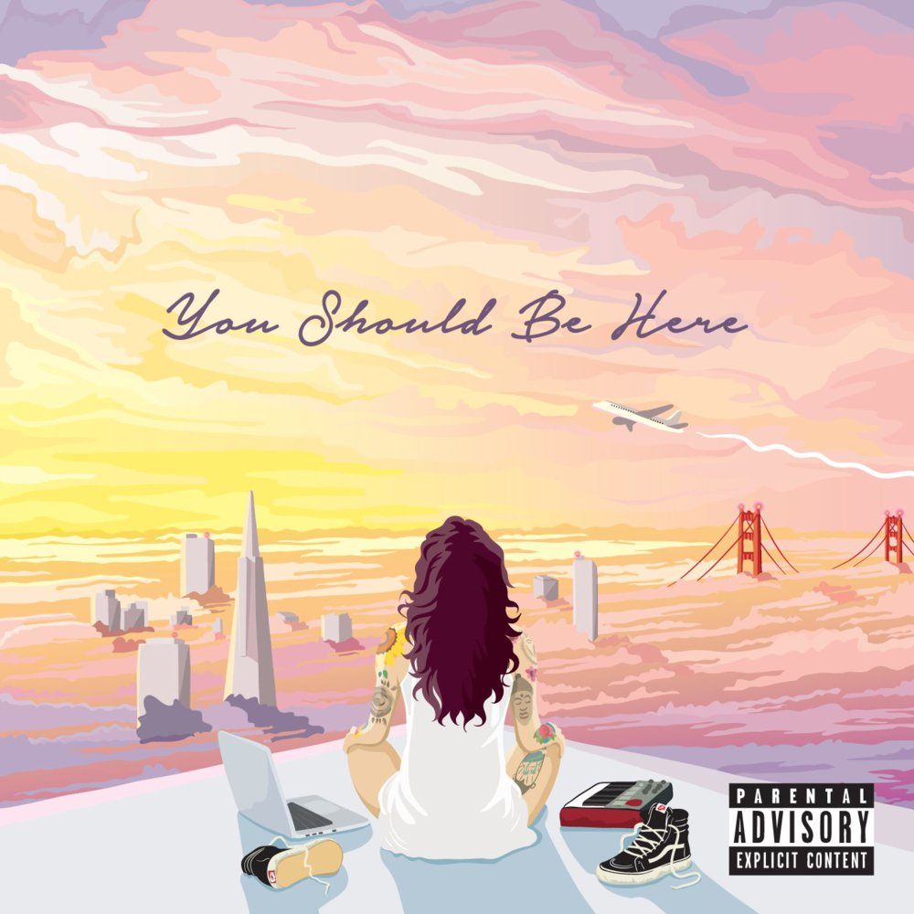 kehlani you should be here cover