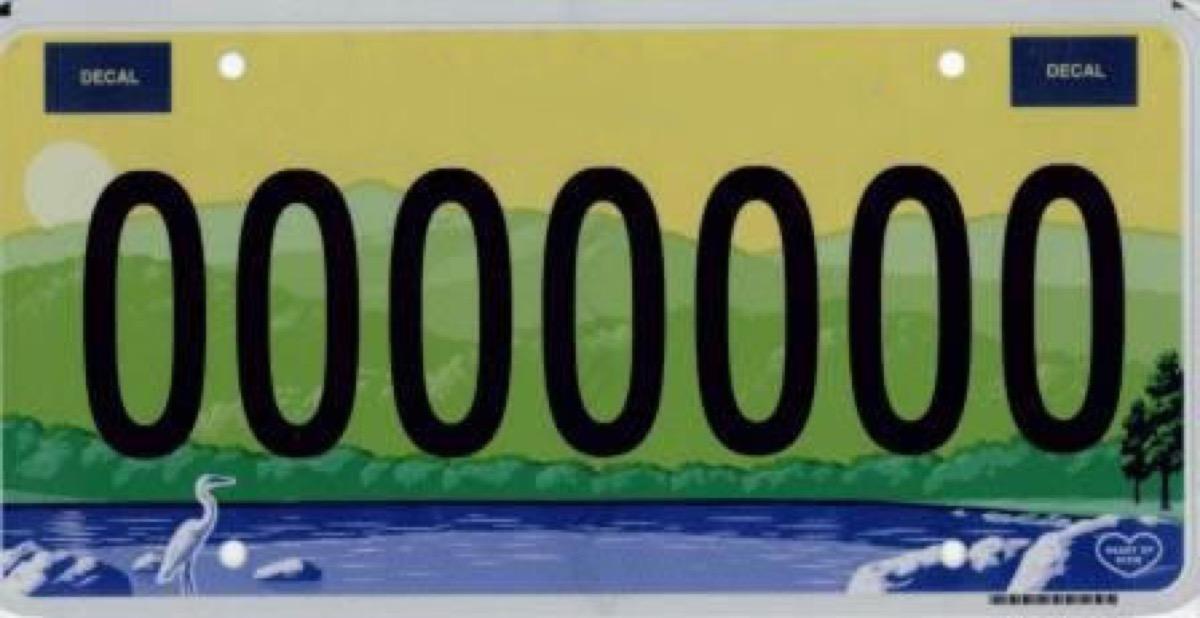 alabama license plate photoshopped