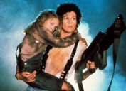 Carrie Henn and Sigourney Weaver in Aliens