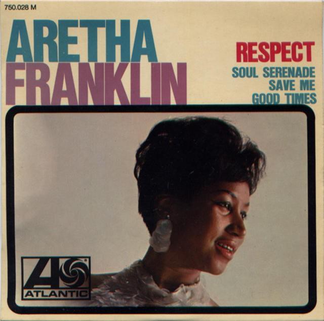 aretha franklin respect record cover