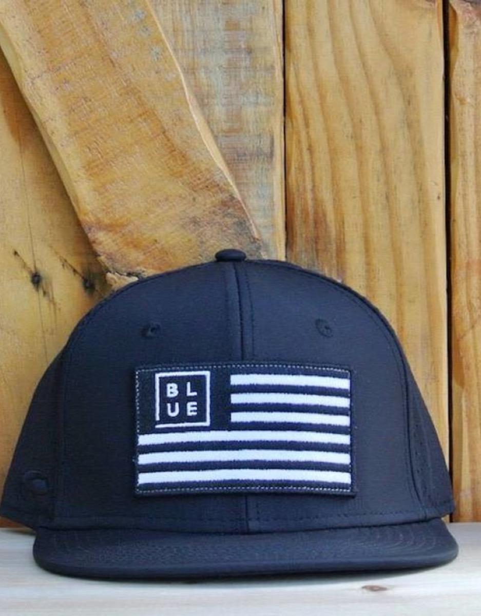 gold hat - UV Lite USA Flag