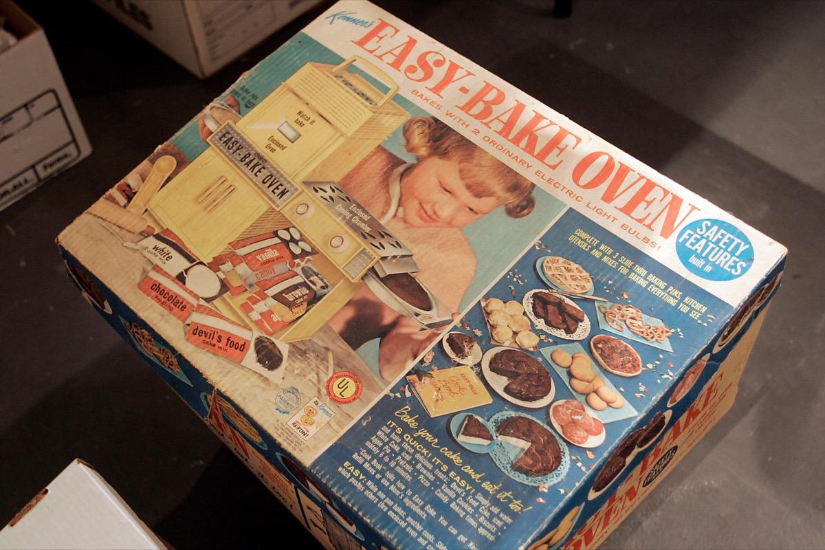 vintage easy bake oven box