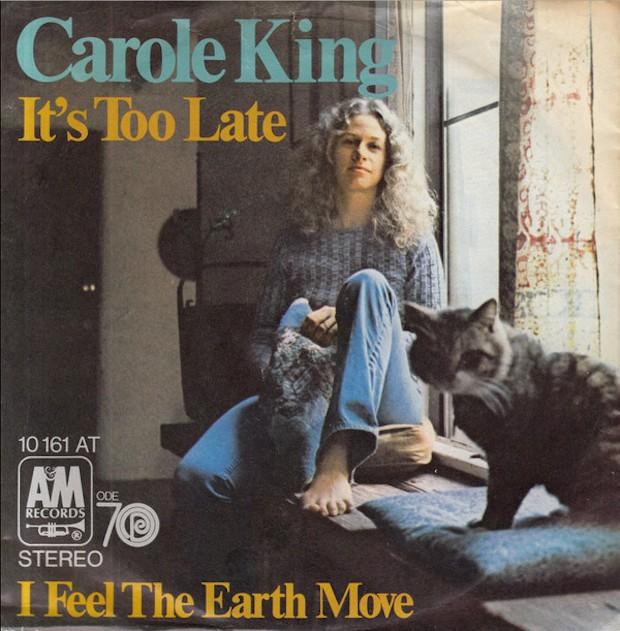carole king it's too late single cover