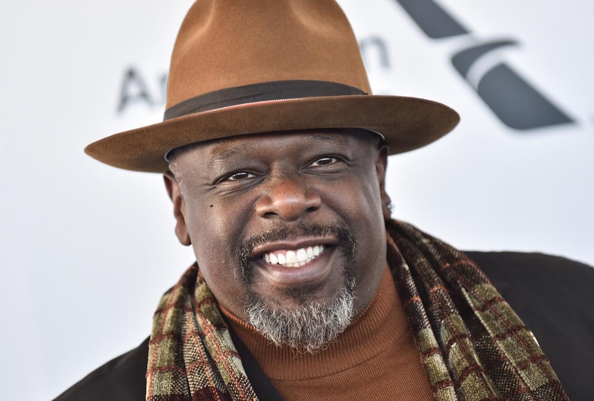 Cedric the Entertainer wears brown hat, surprising celebrity grandparent