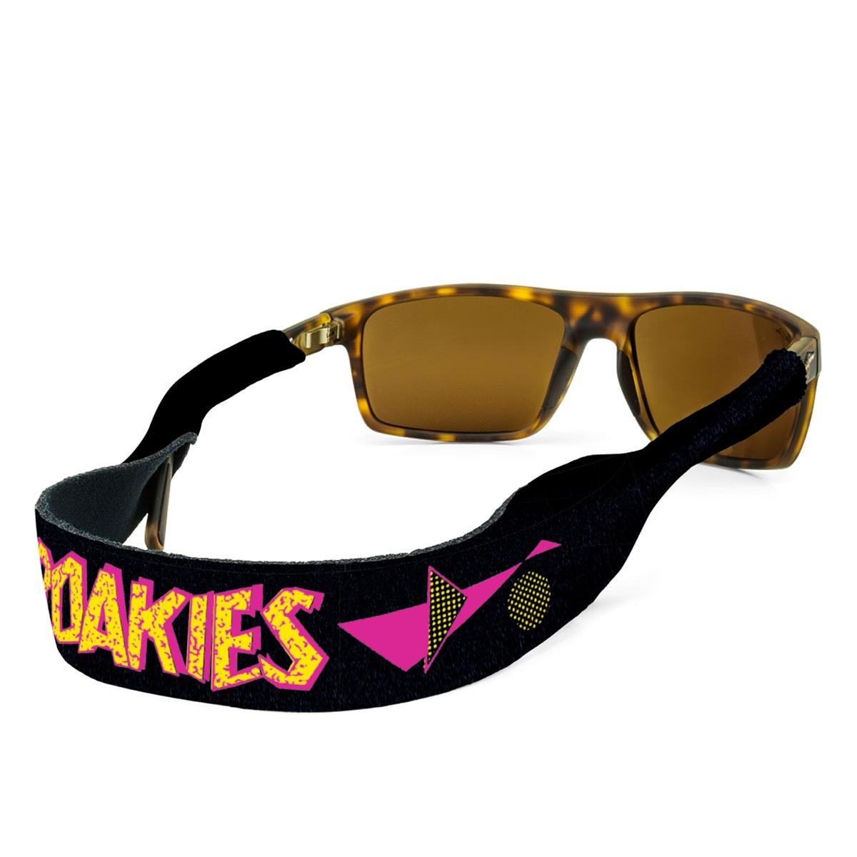 Croakies sunglass holders 1980s fashion