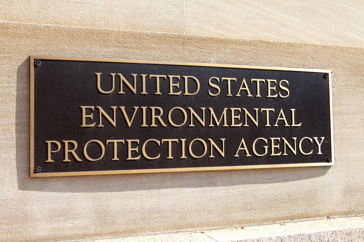 environment protection agency sign, state fact about ohio