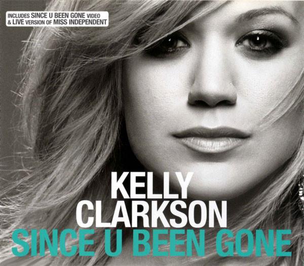 kelly clarkson since u been gone single cover
