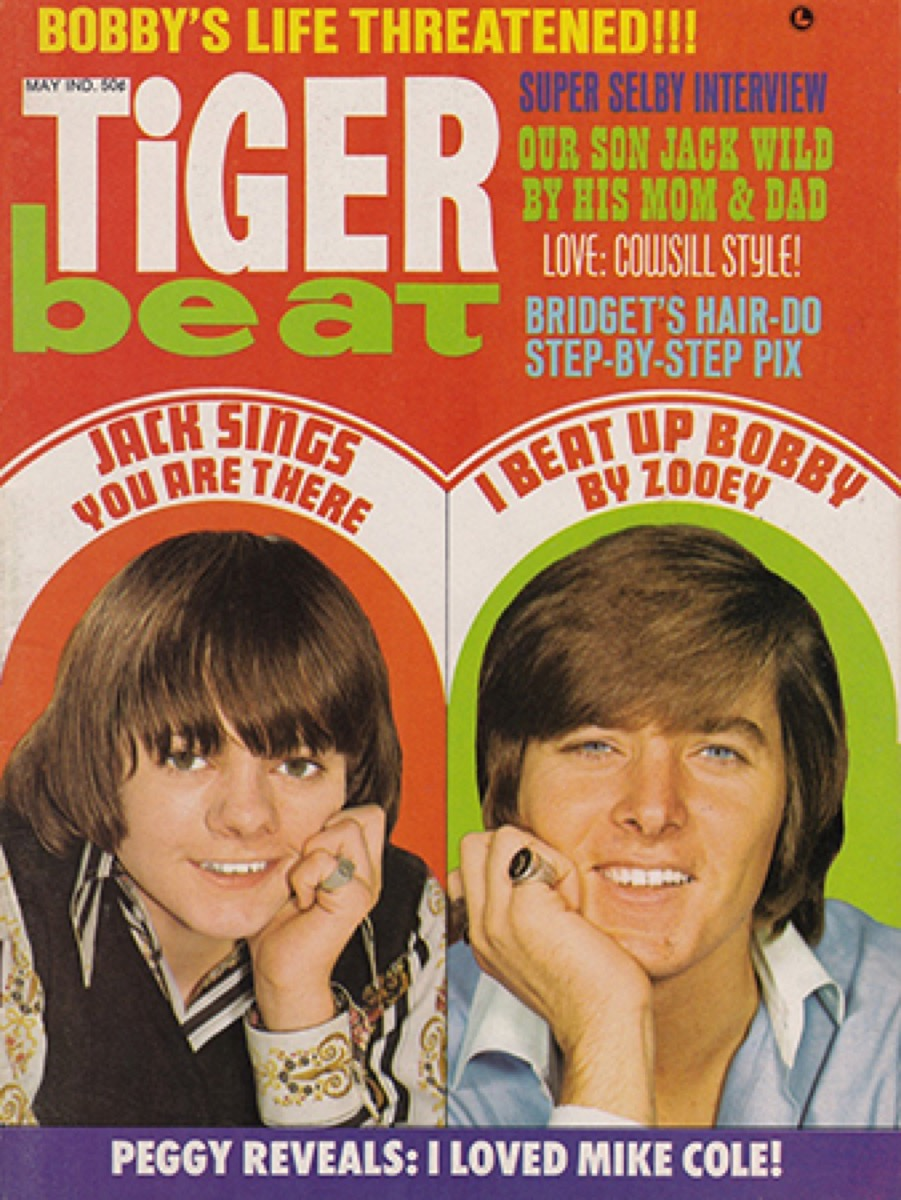 1970s TigerBeat Magazine