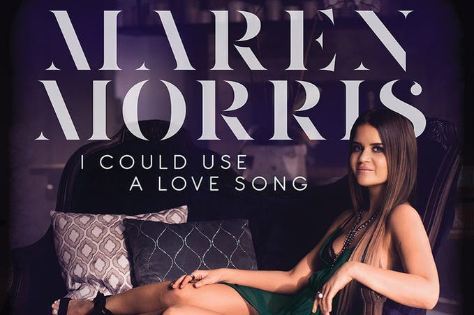 maren morris I could use a love song single cover