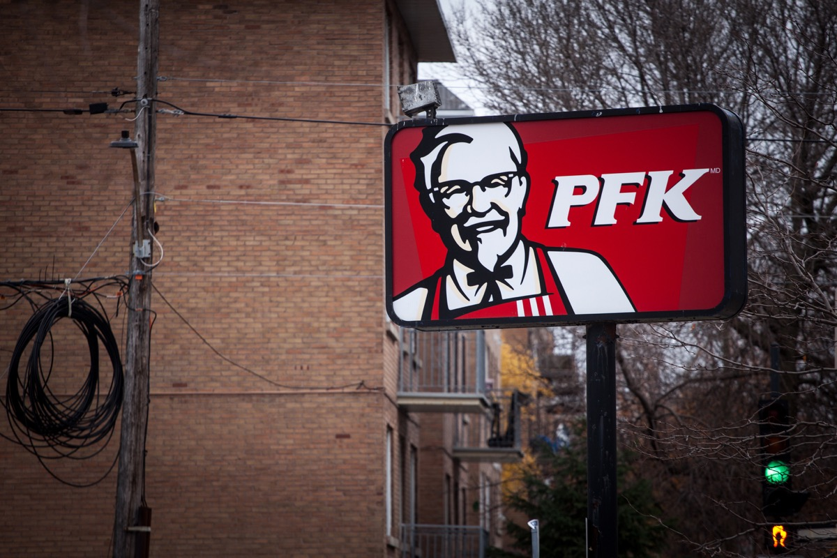 PFK/KFC in Quebec {Brands with Different Names Abroad}