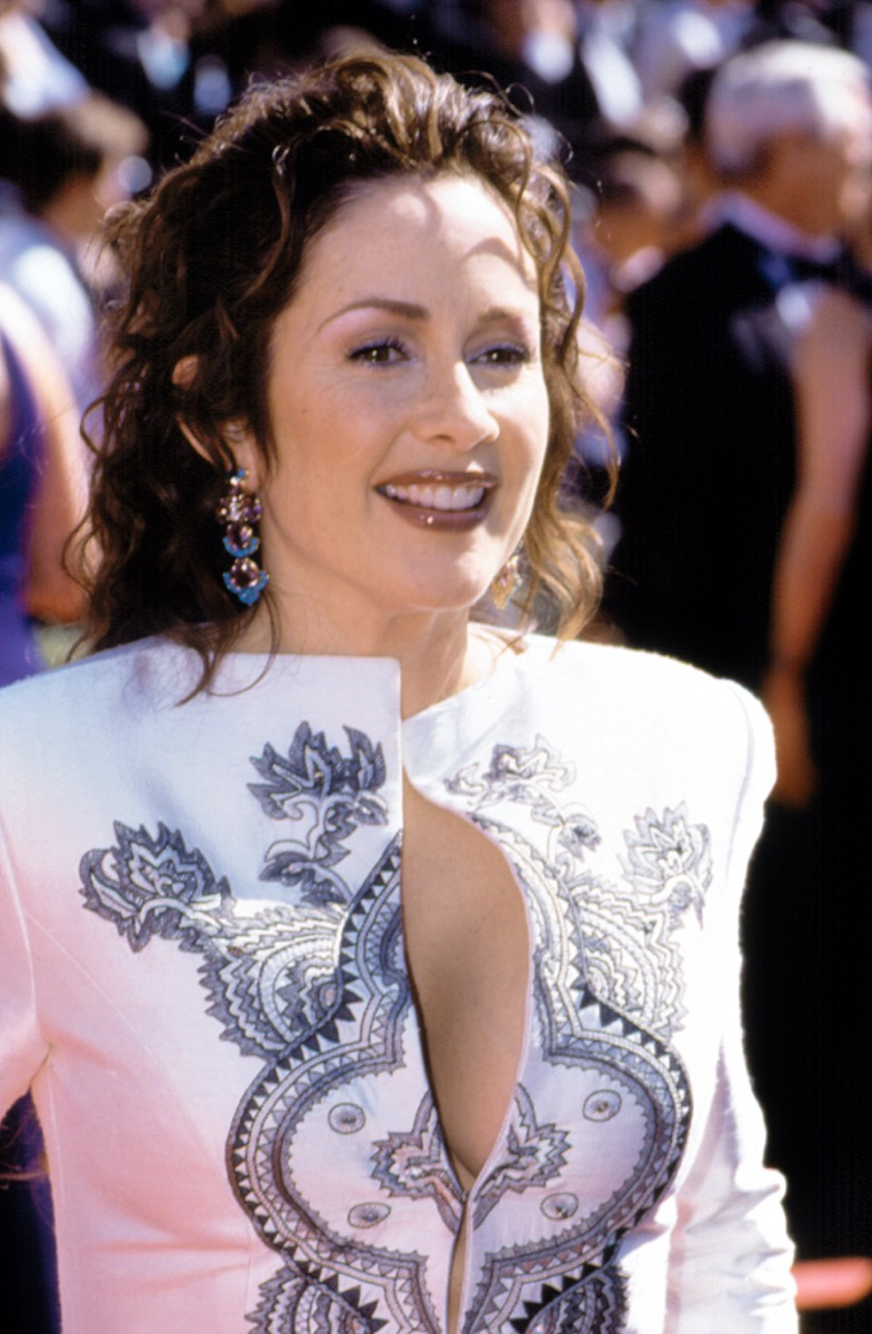 Celebrity Patricia Heaton at the Emmy Awards in 1999