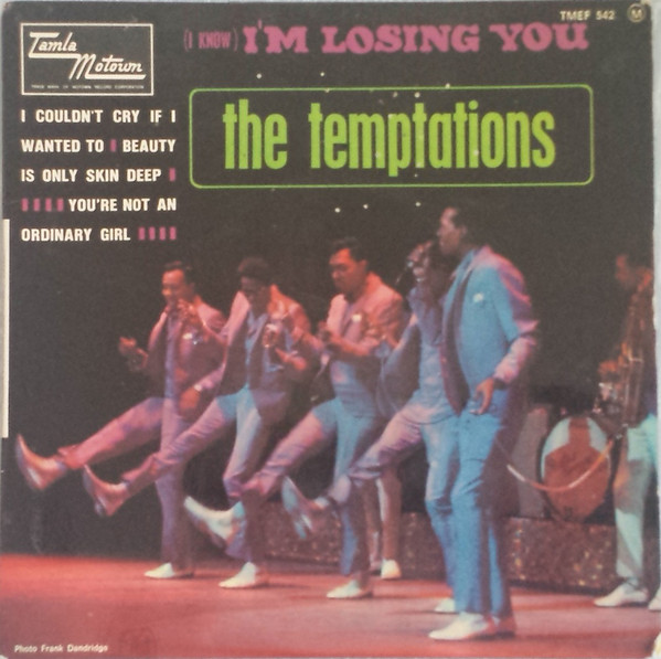 I know i'm losing you the temptations cover