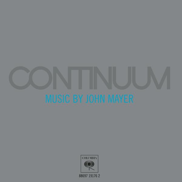 john mayer continuum album cover