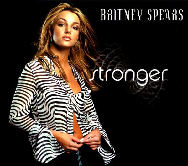 britney spears stronger single cover