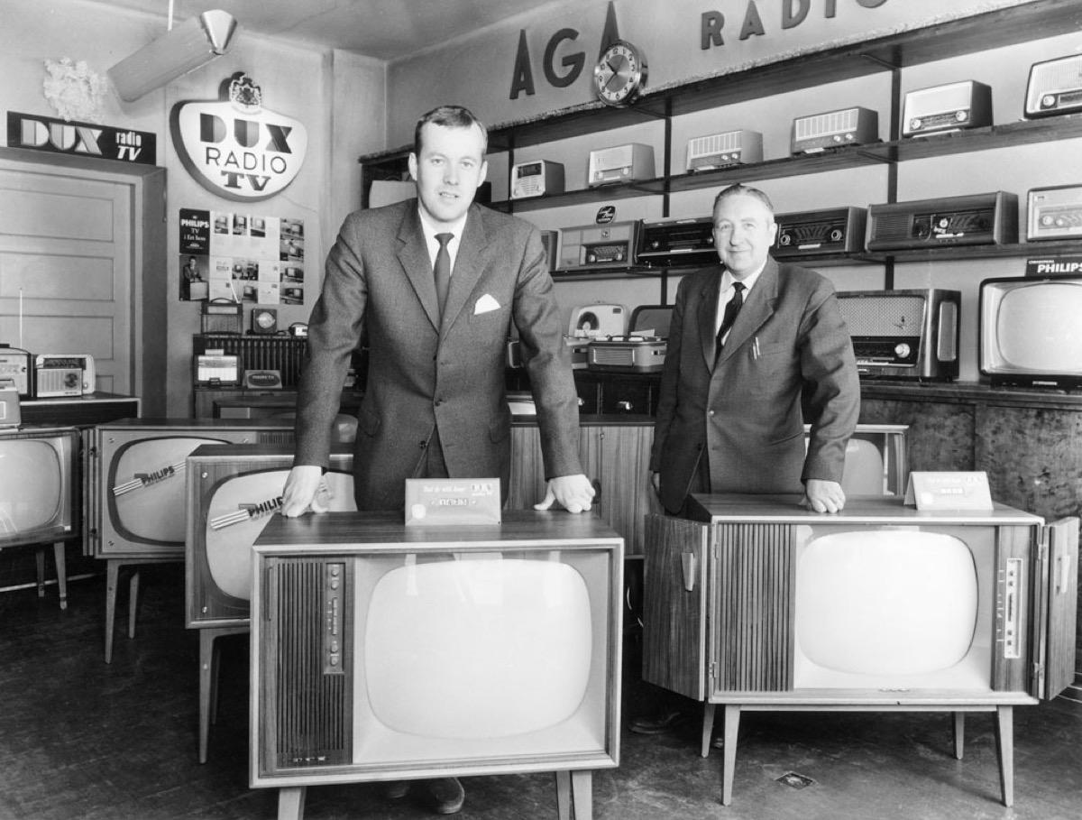Giant TV Box 1960