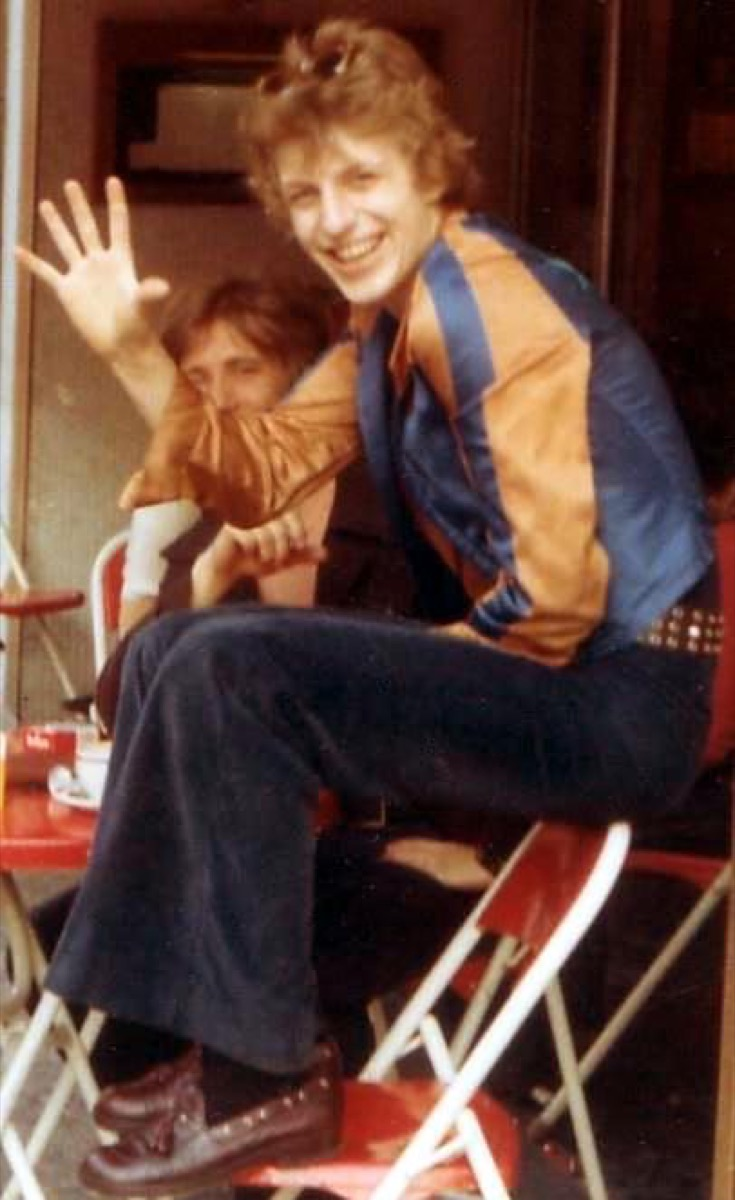 1970s fashion studded belt